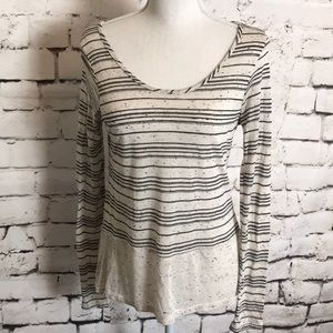Olive + Oak Striped Top